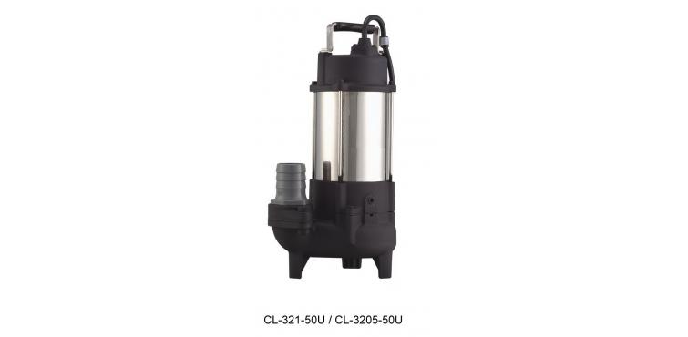 沉水式不锈钢污物废水泵浦CLS 型