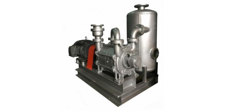 水封式真空泵浦-雙段式系列