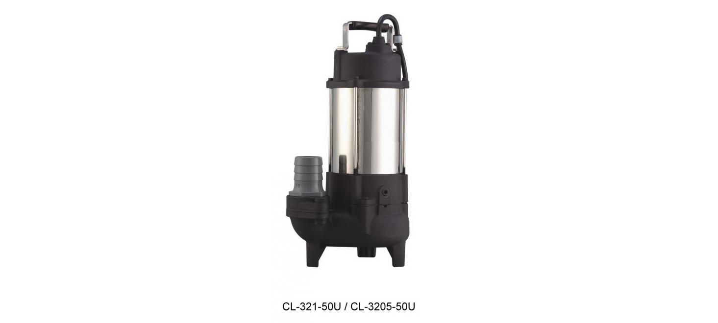沉水式不銹鋼污物廢水泵浦CLS 型